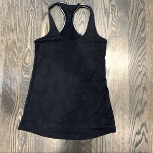Lululemon Tank Top with Floral Imprint